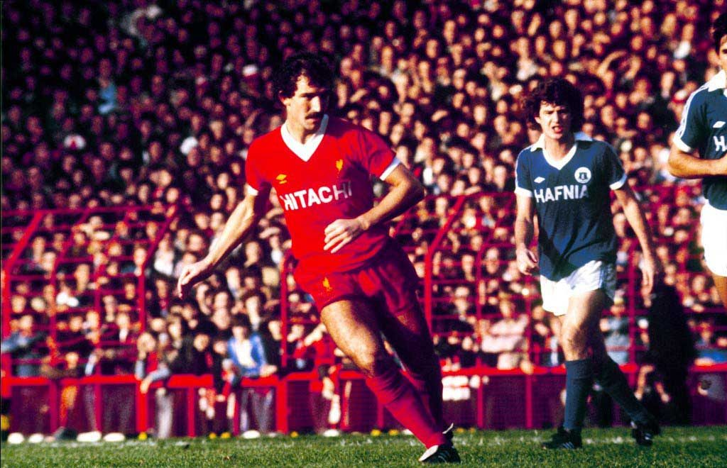 1979-1982 Graeme Souness in action