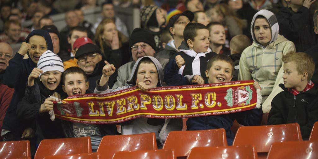 Football - FA Youth Cup - Quarter-Final - Liverpool FC v Bolton Wanderers FC