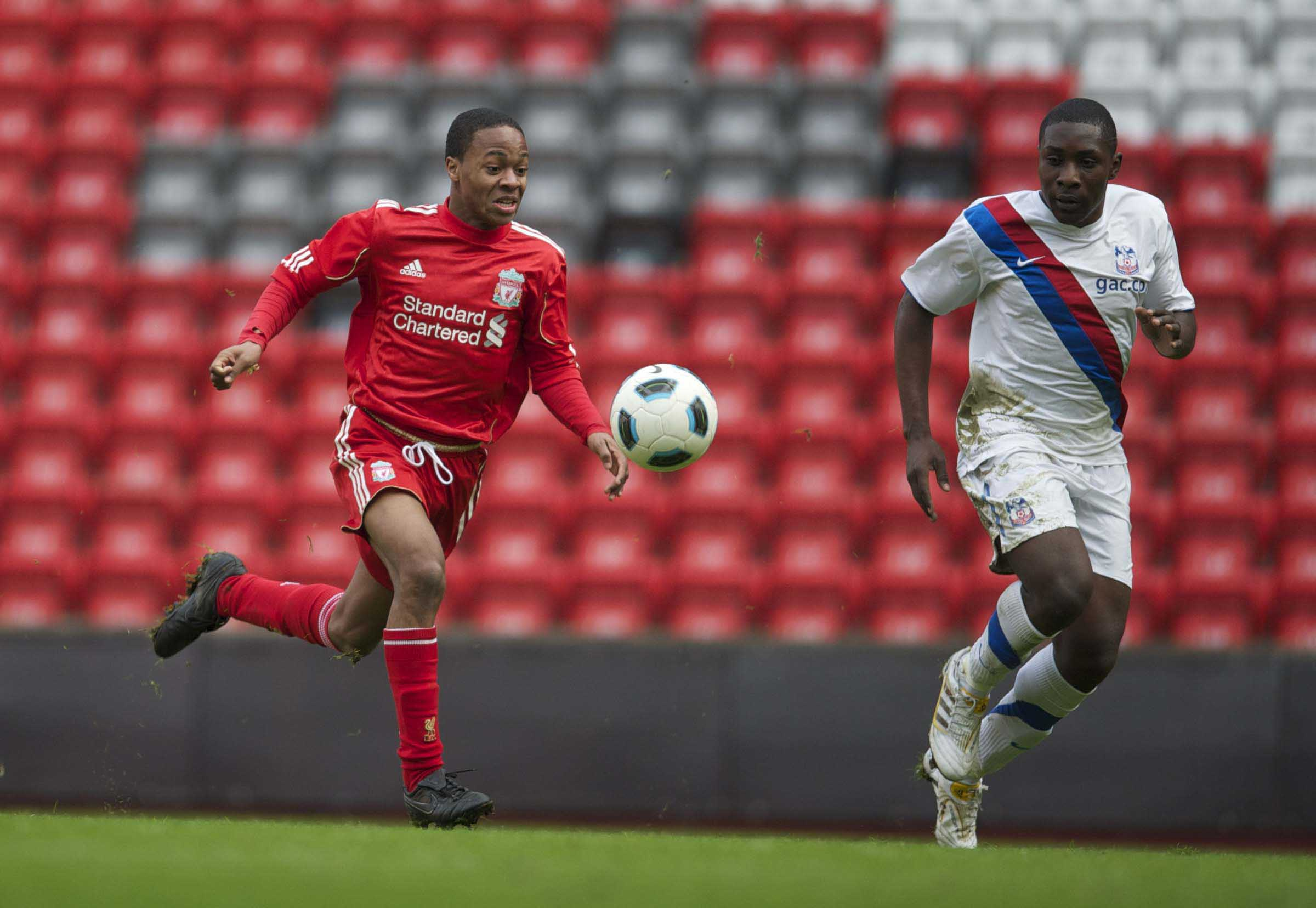 Football - FA Youth Cup - 4th Round - Liverpool FC v Crystal Palace FC