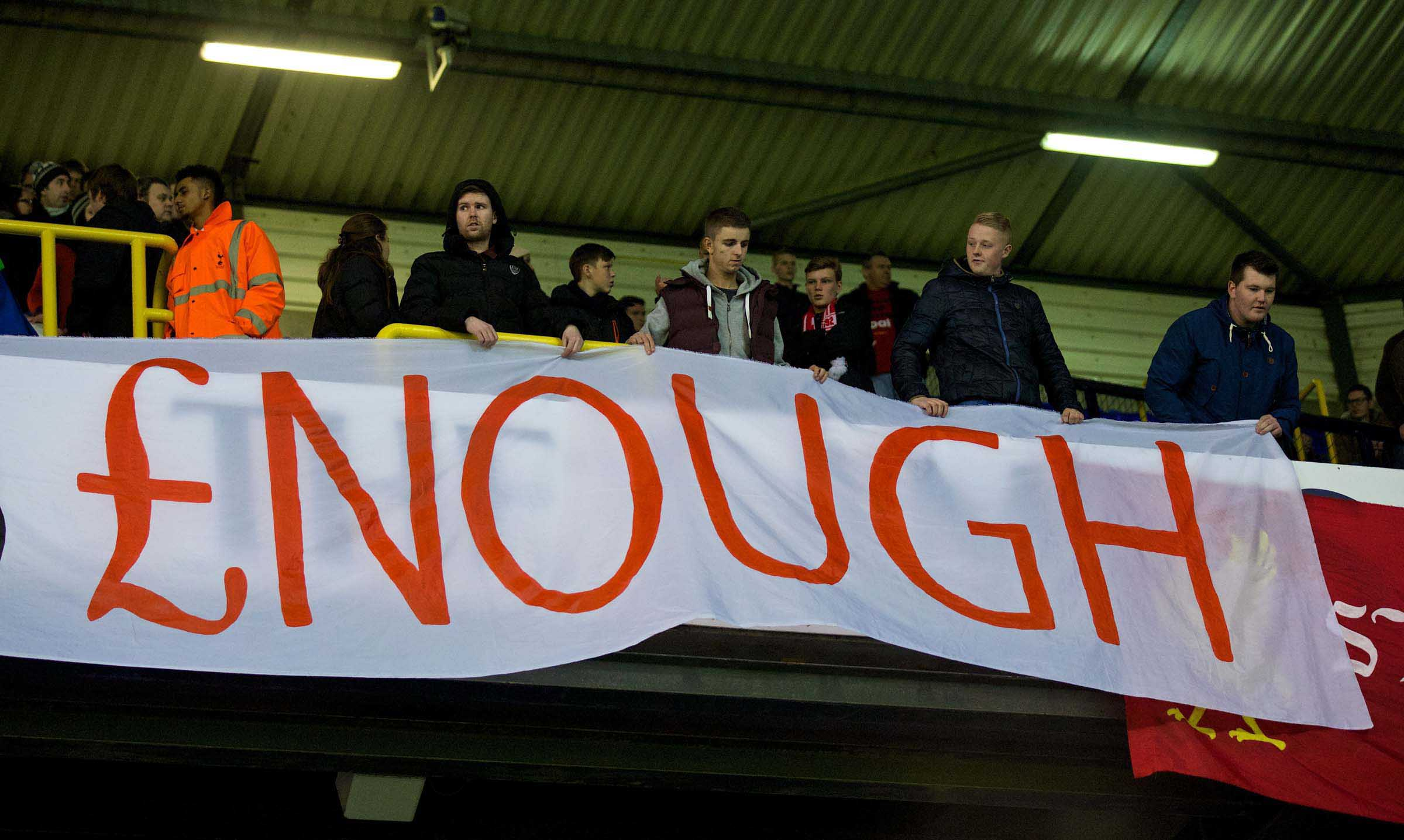 TICKET PRICES: WHY ALL FOOTBALL FANS SHOULD BACK LIVERPOOL'S BOYCOTT