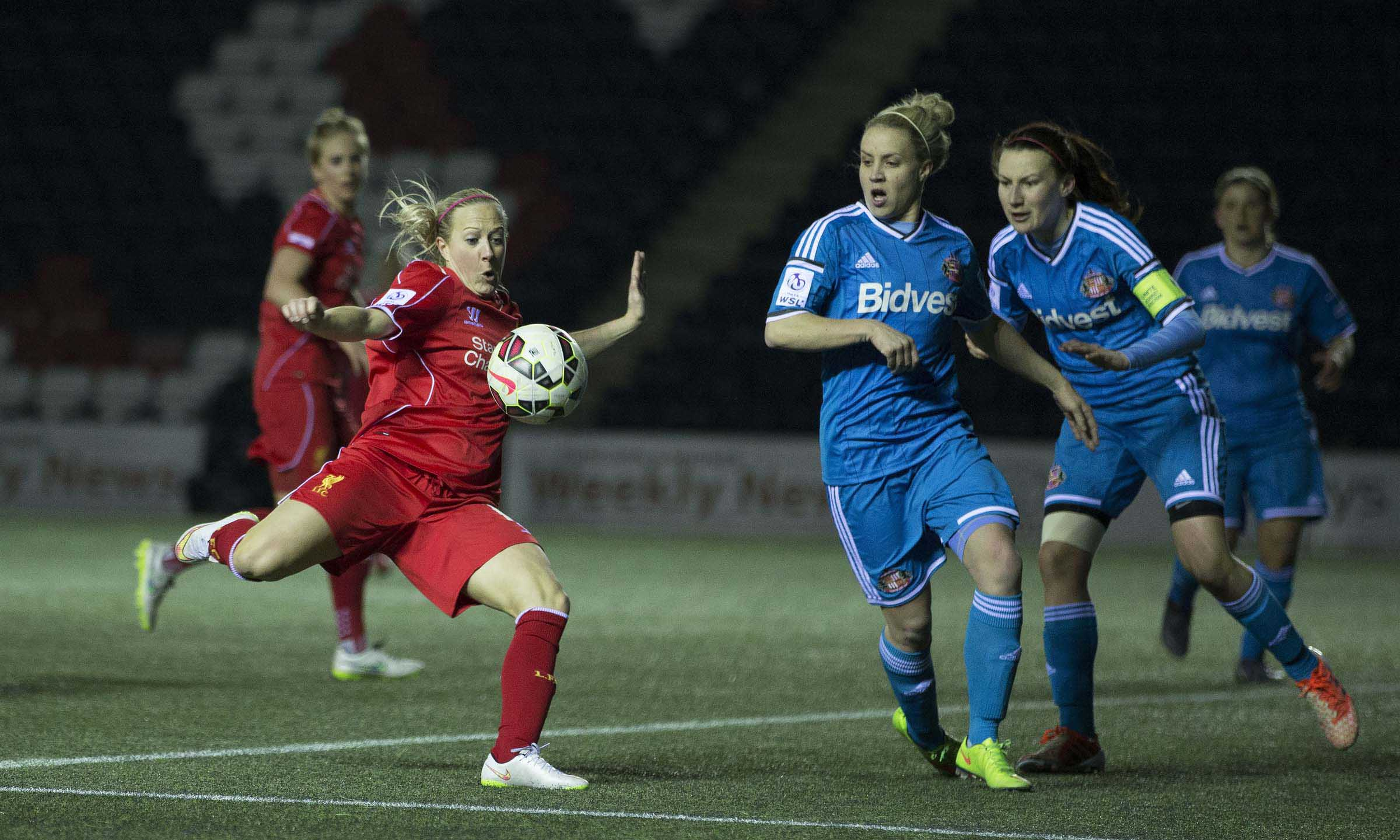 Football - FA Women's Super League - Liverpool Ladies FC v Sunderland AFC Ladies FC