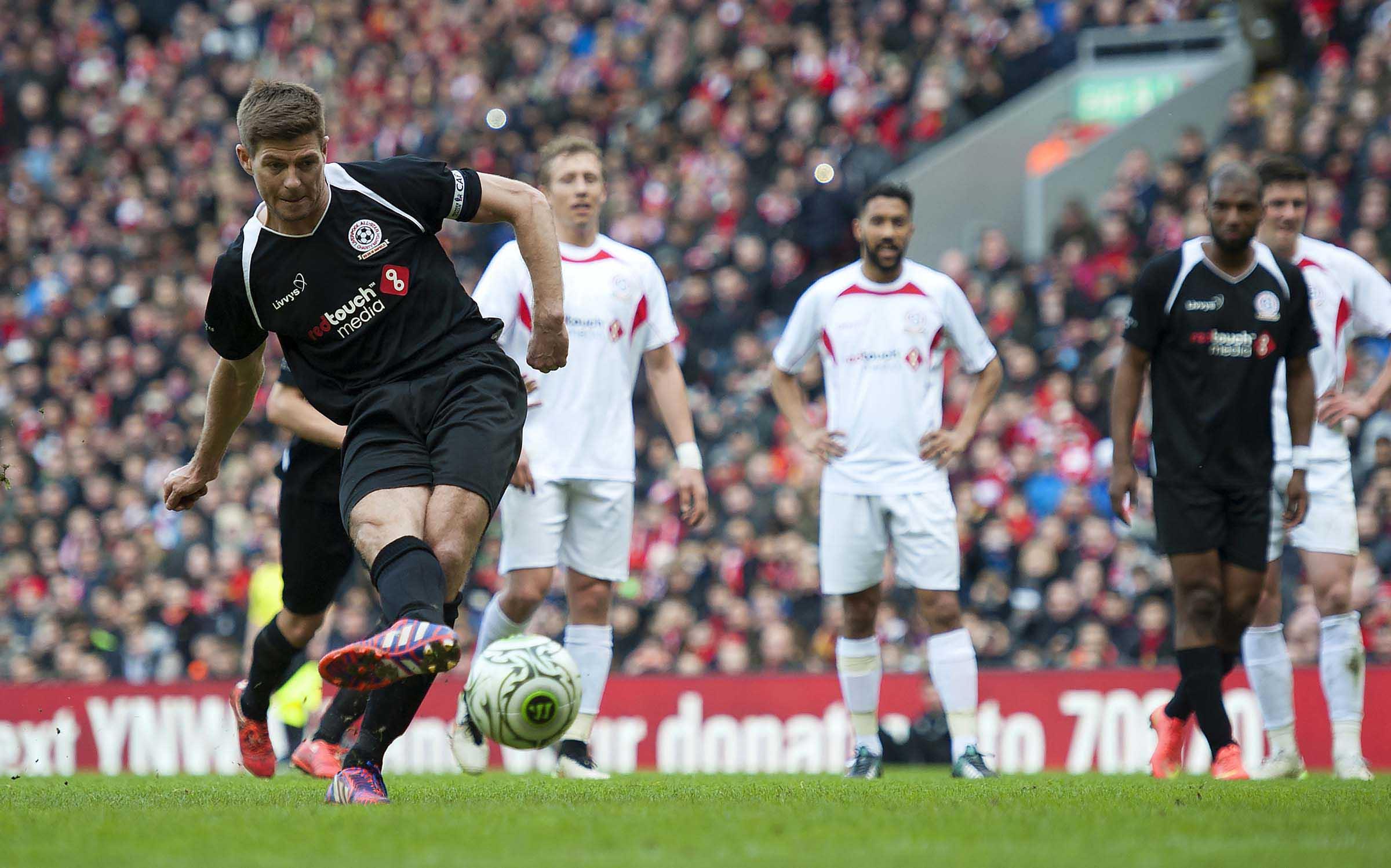 Football - Friendly - Liverpool FC All Star Charity Match - Gerrard XI v Carragher XI
