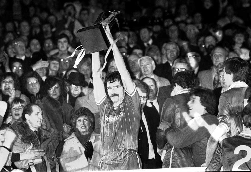 Liverpool Milk Cup Win 1984