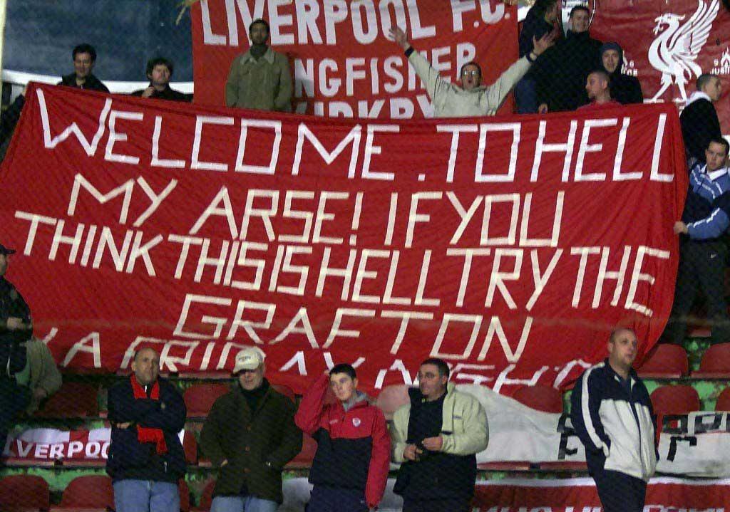 Galatasaray v Liverpool Fans