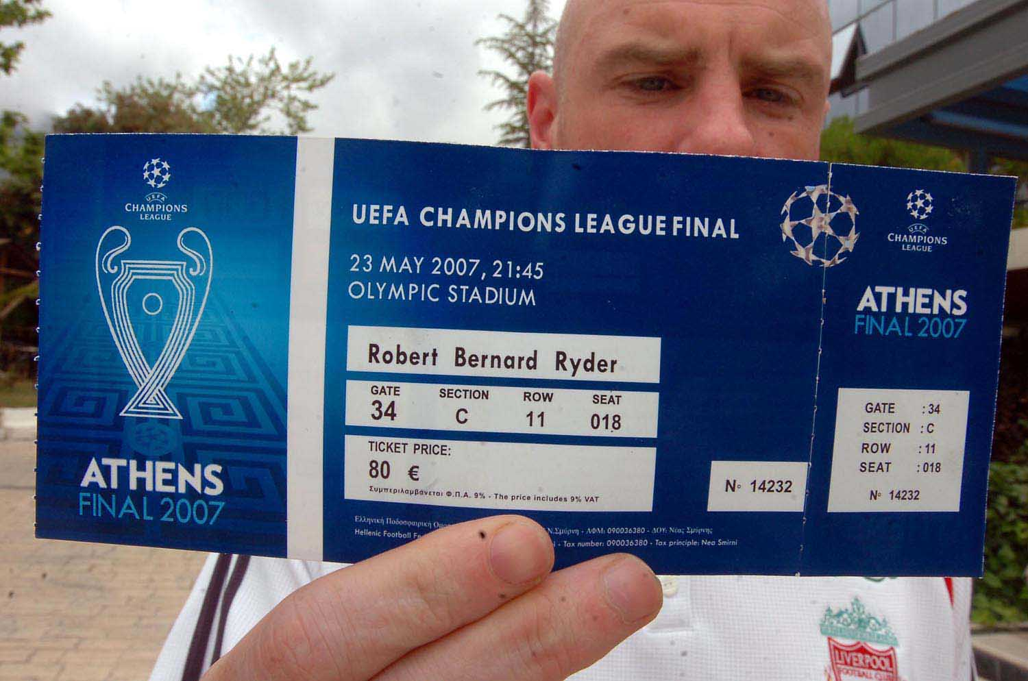 JUST THE TICKET: FIVE FAVOURITE LIVERPOOL STUBS #2