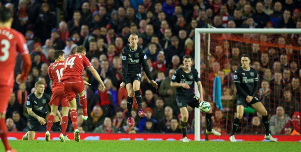 Football - FA Premier League - Liverpool FC v Burnley FC
