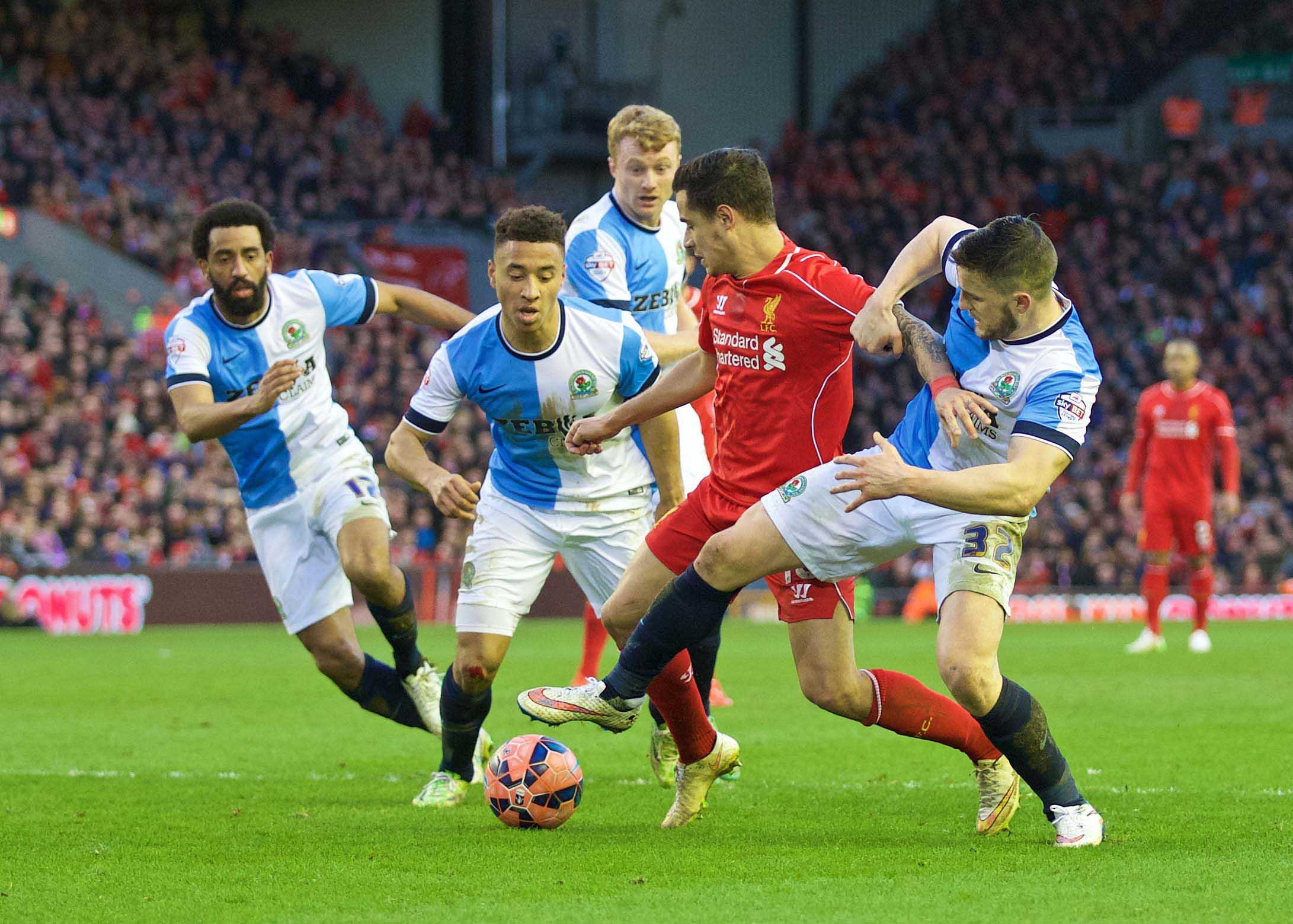 Football - FA Cup - 3rd Round - Everton FC v Blackburn Rovers FC