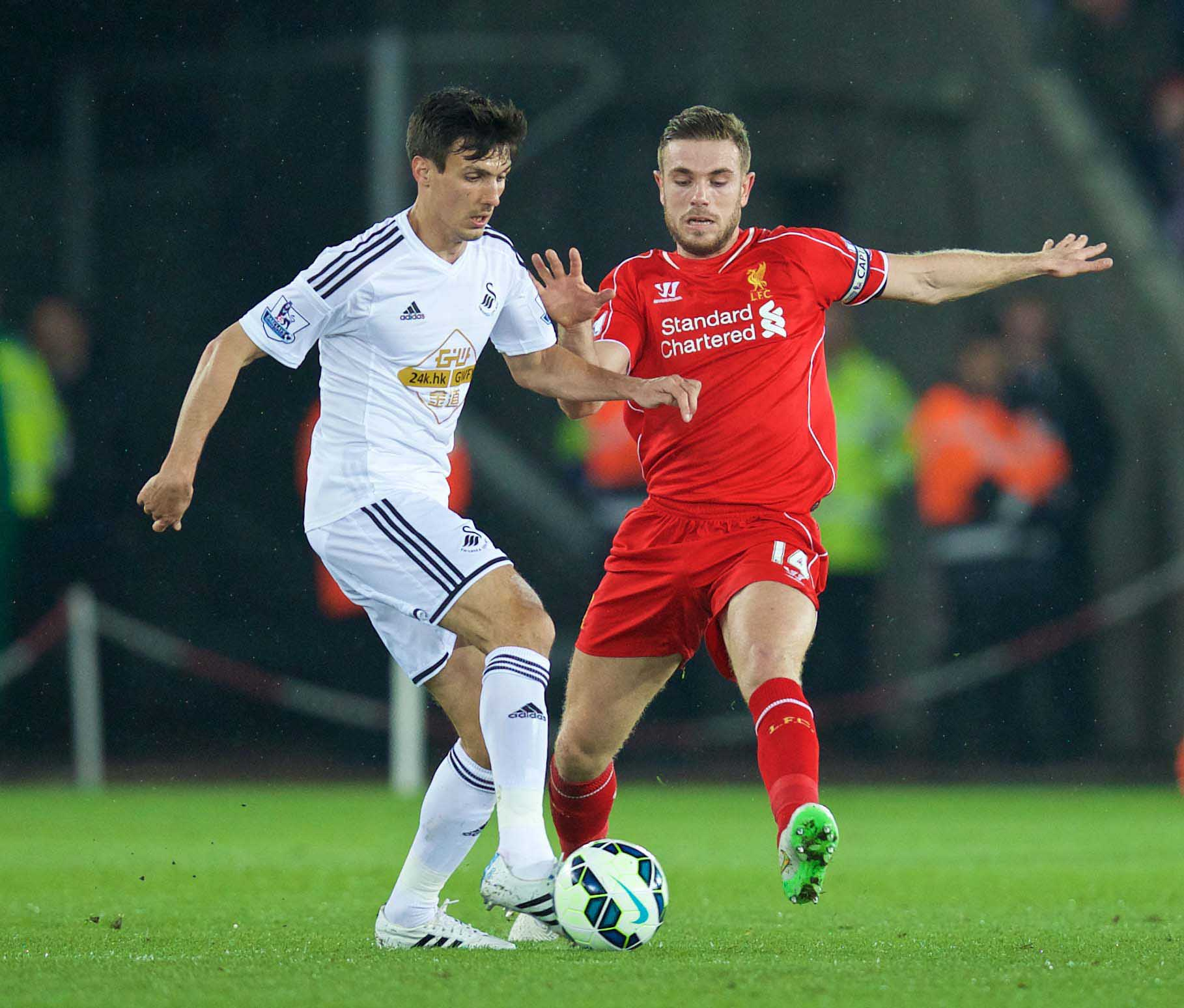 Football - FA Premier League - Swansea City FC v Liverpool FC
