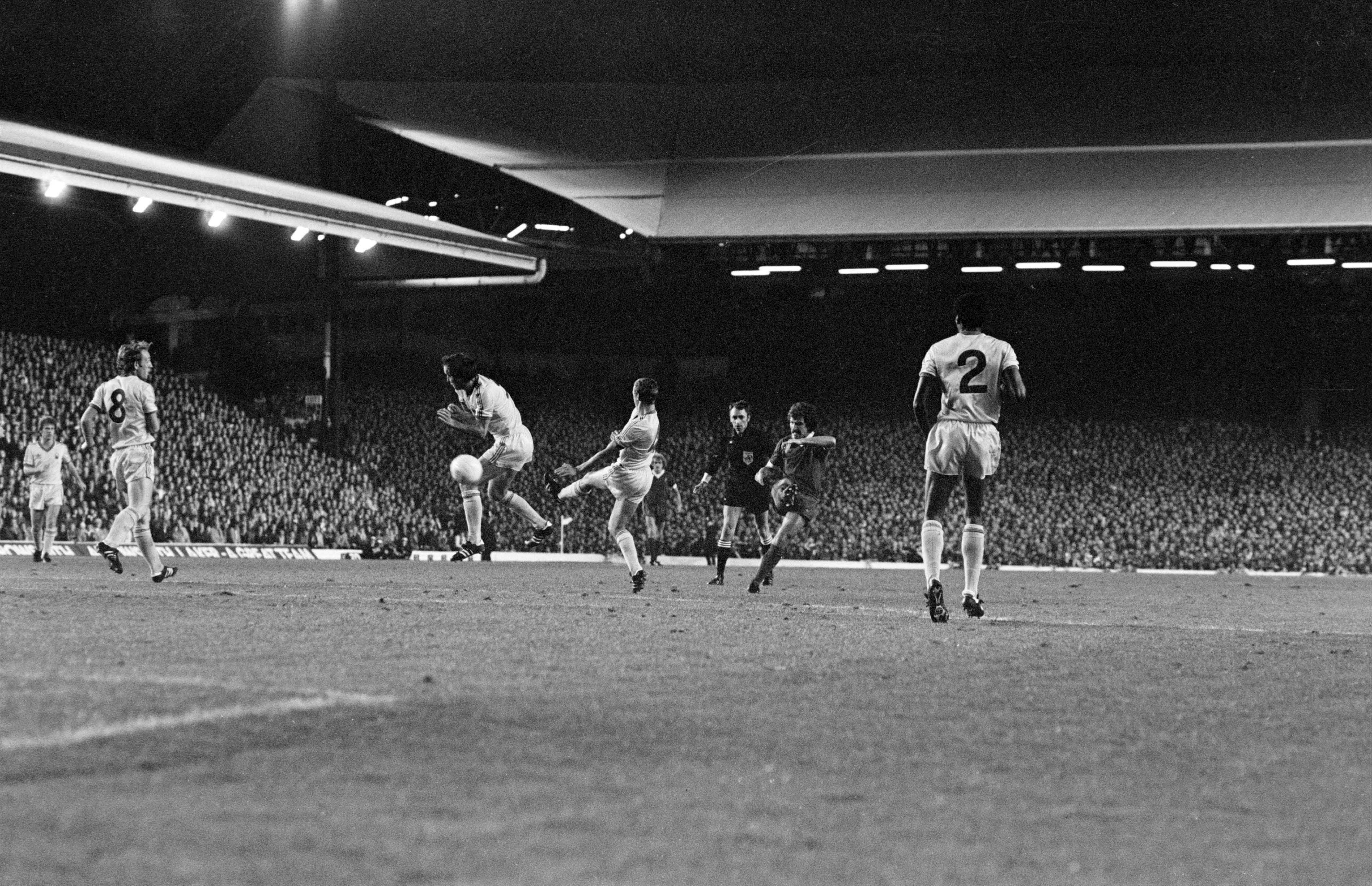 27.09.1978 LFC v Nottingham Forest - EC Rd1 2L (0-0)