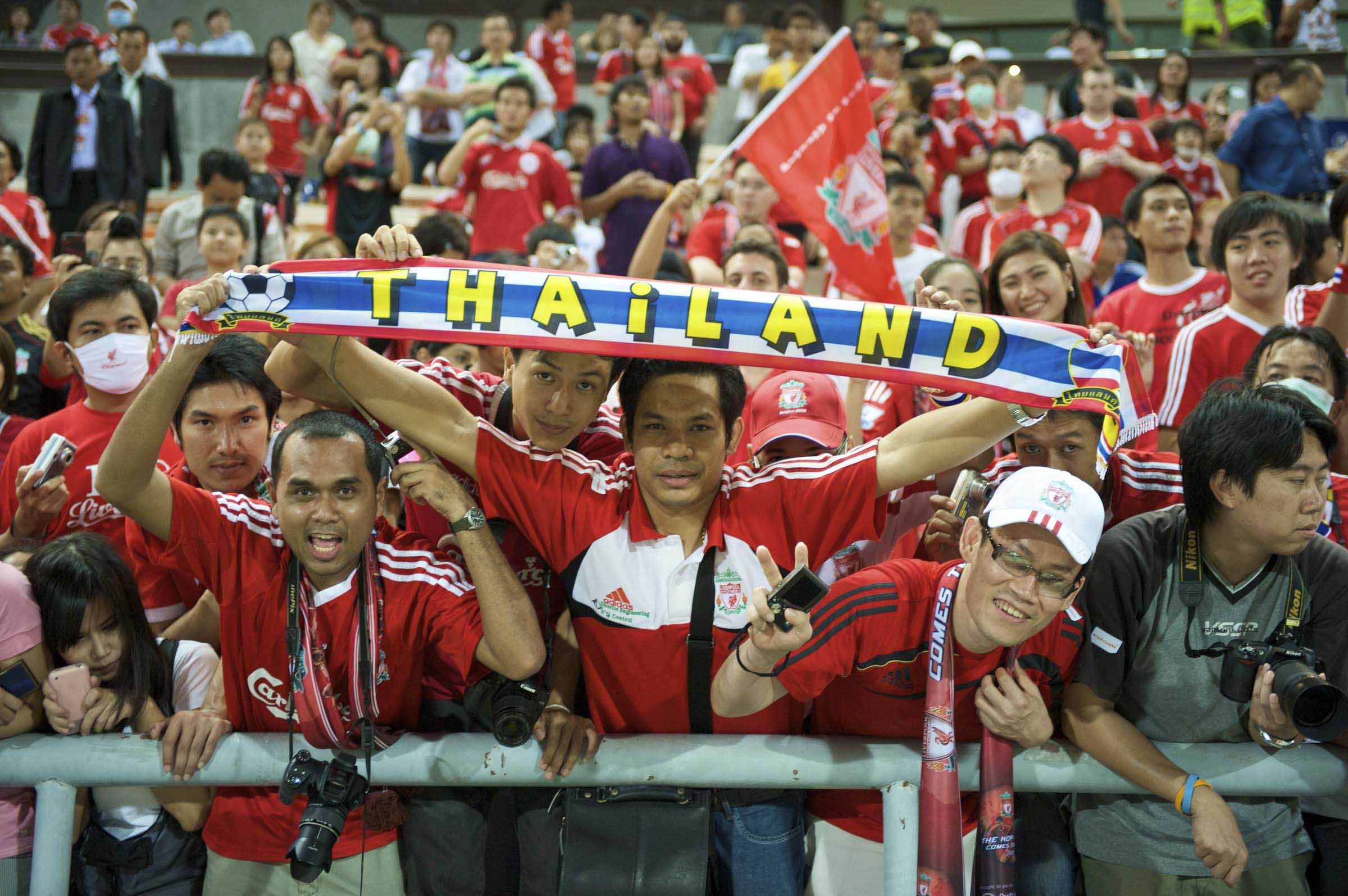 Football - Preseason Friendly - Thailand XI v Liverpool FC
