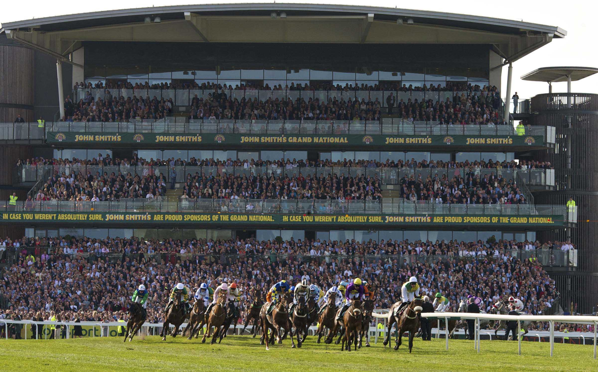 AINTREE RACES: LIVERPOOL'S GRAND DAY OUT