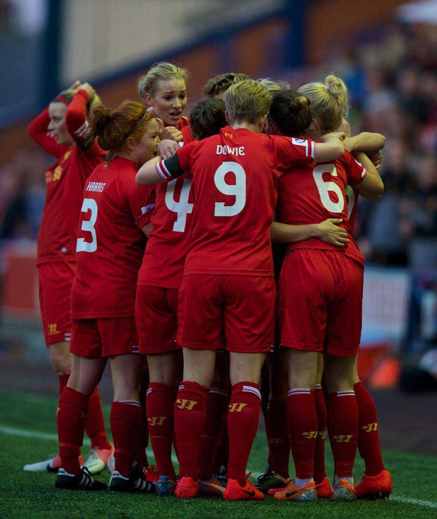 Football - FA Women's Super League - Liverpool Ladies FC v Manchester City FC