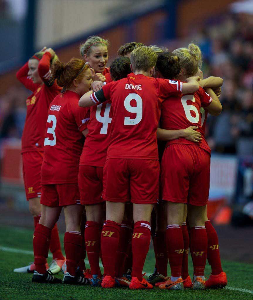 Football - FA Women's Super League - Liverpool Ladies FC v Manchester City FC