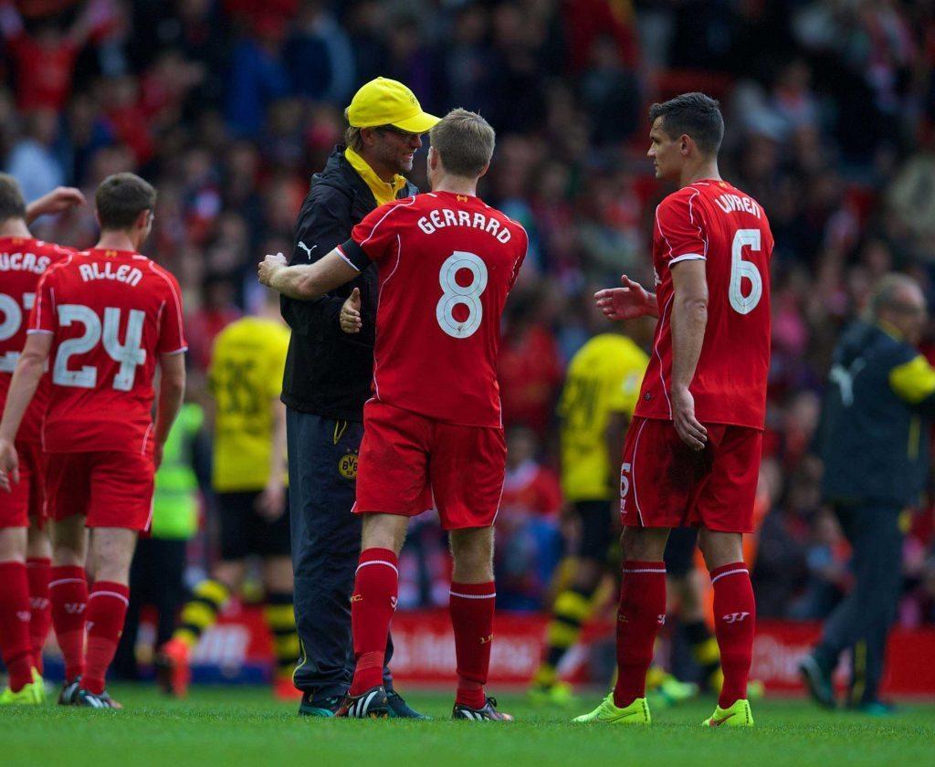 Football - Preseason Friendly - Liverpool FC v Borussia Dortmund