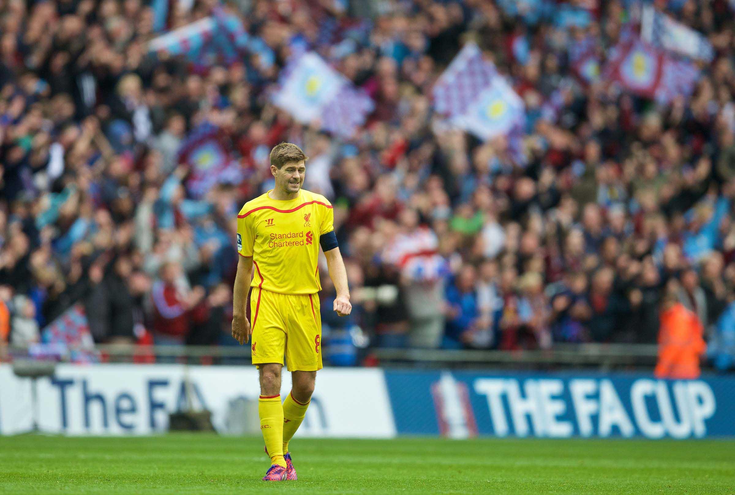 Football - FA Cup - Semi-Final - Aston Villa FC v Liverpool FC
