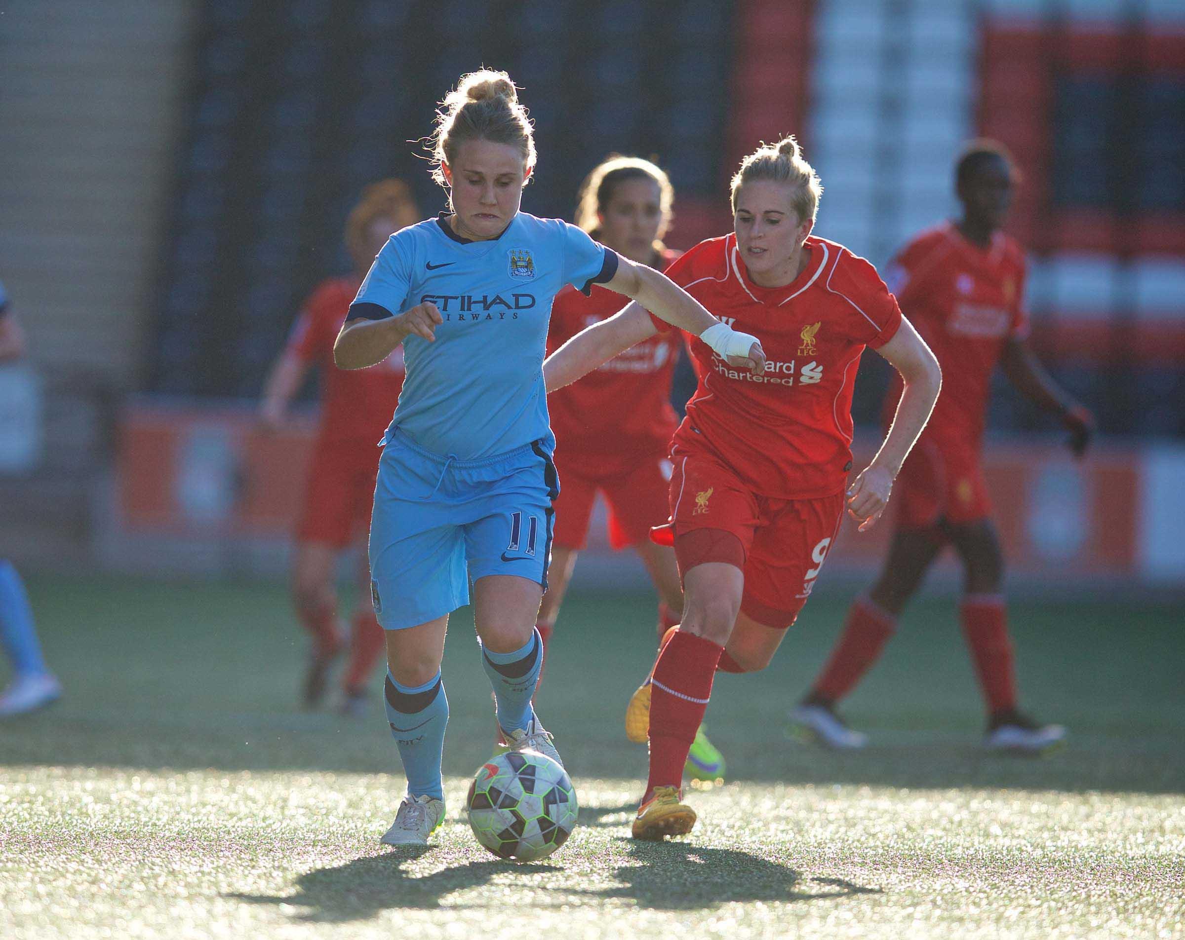 Football - FA Women's Super League - Liverpool Ladies FC v Manchester City Ladies FC