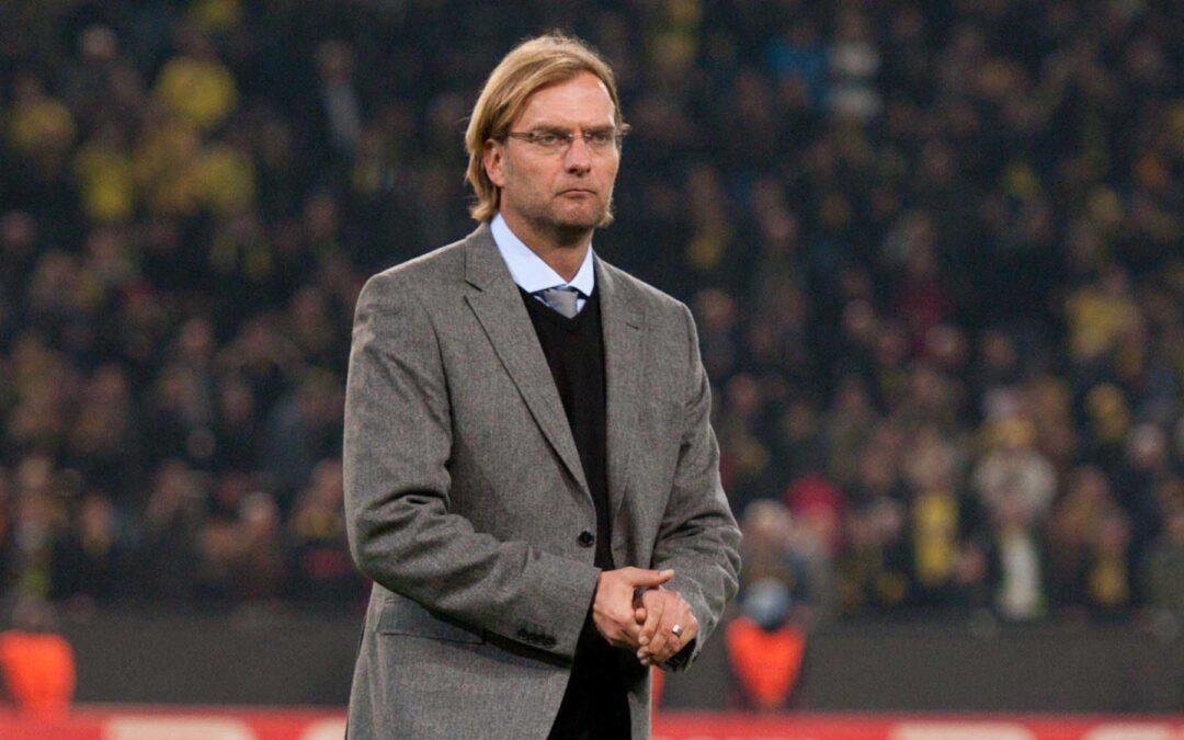 Jürgen Klopp during his time as Borussia Dortmund manager