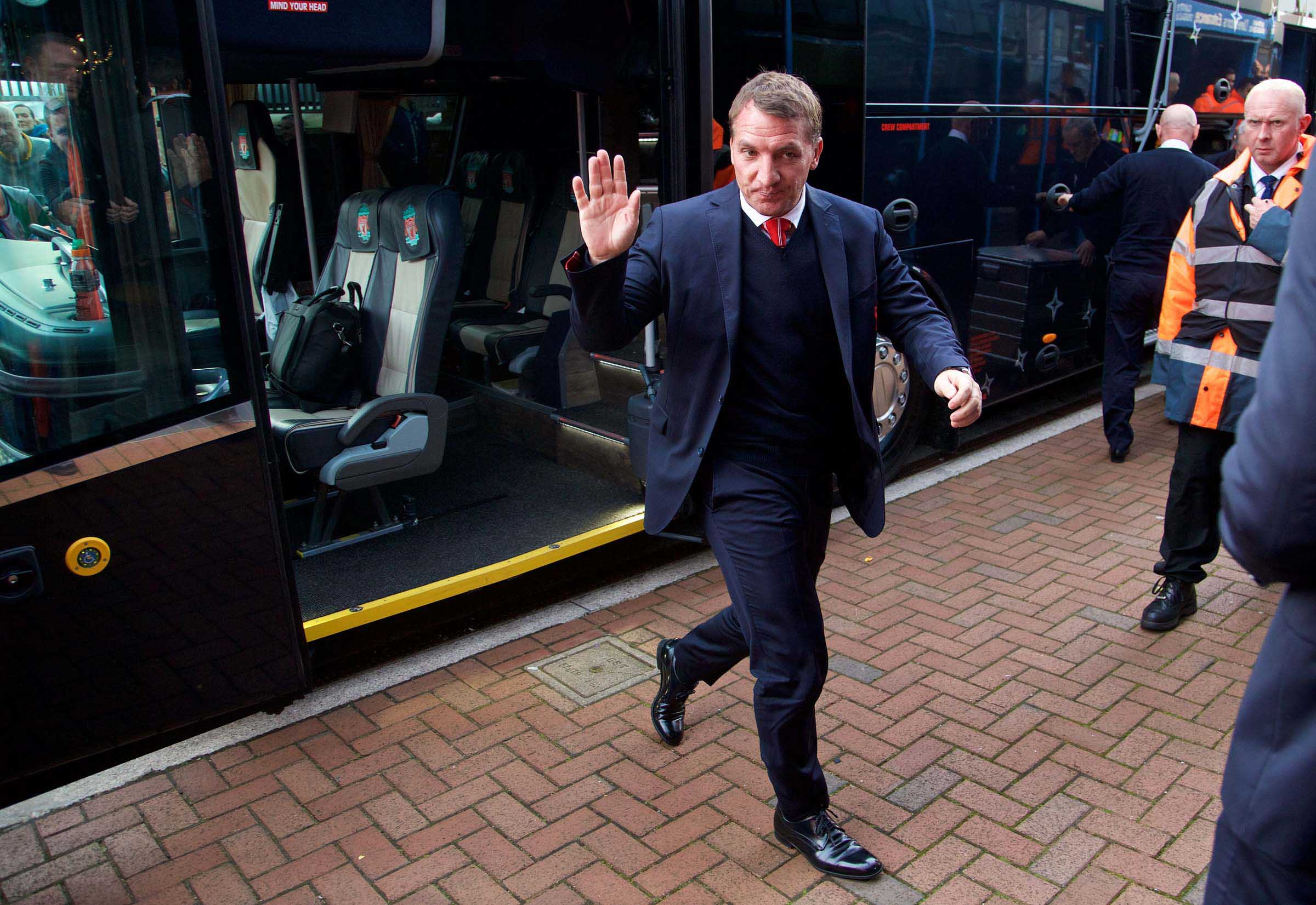 LIVERPOOL: THE RACE ISN'T RUN FOR RODGERS YET