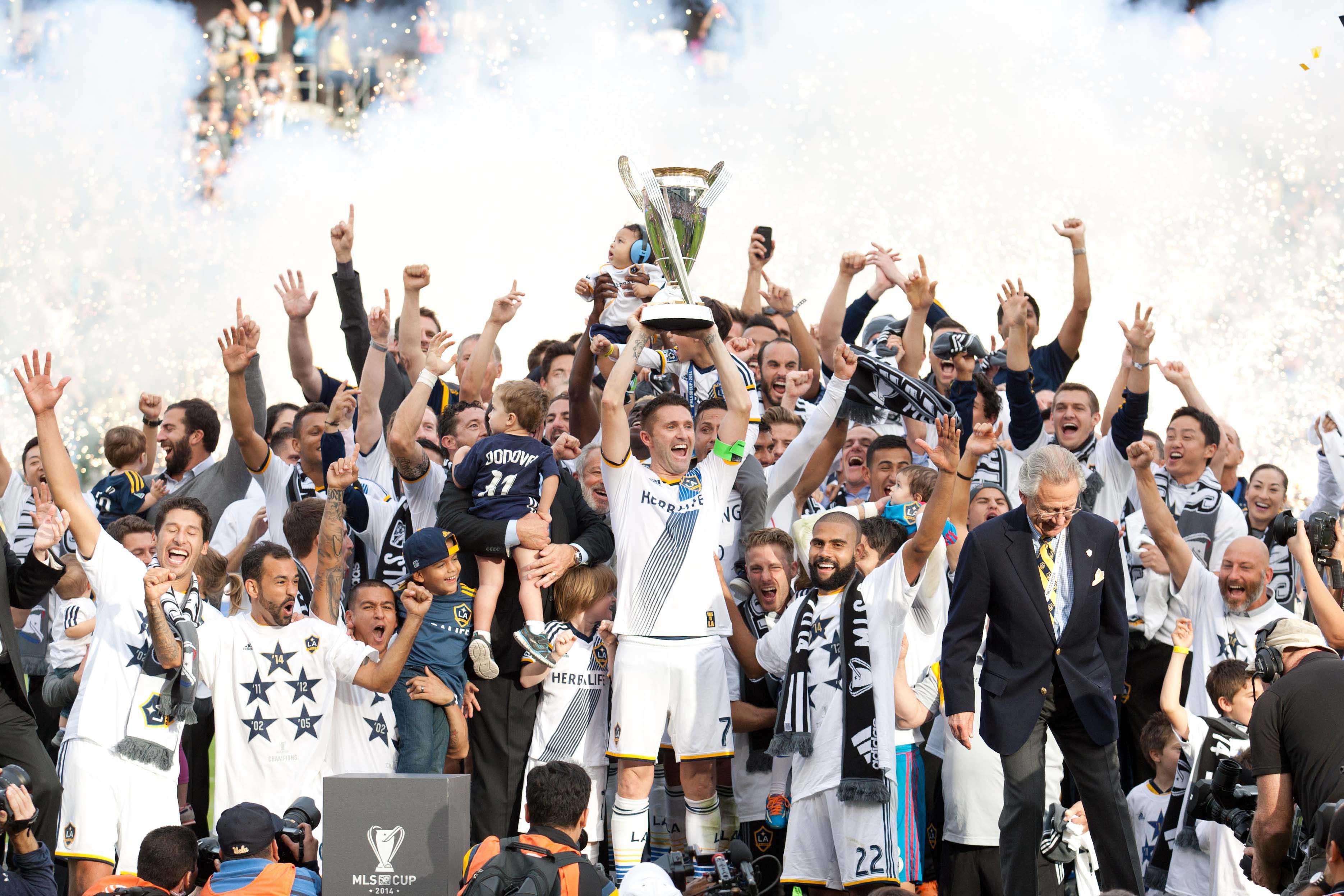 Soccer - MLS - Final - LA Galaxy v New England Revolution - StubHub Center