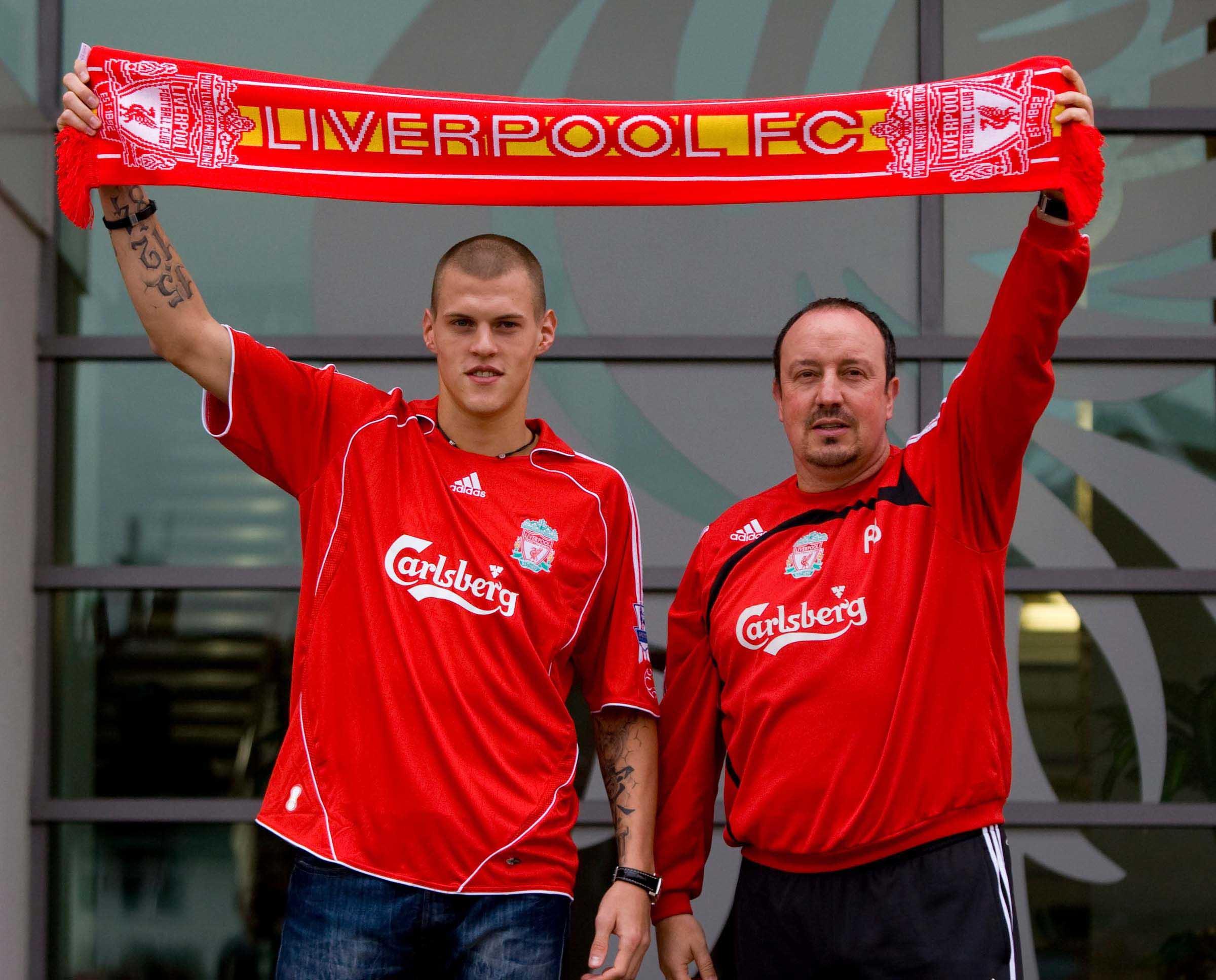Football - Liverpool sign Martin Skrtel