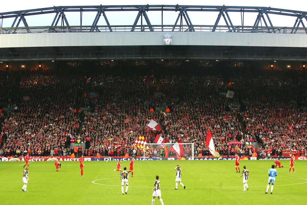 Liverpool Juventus Anfield Champions League 2005