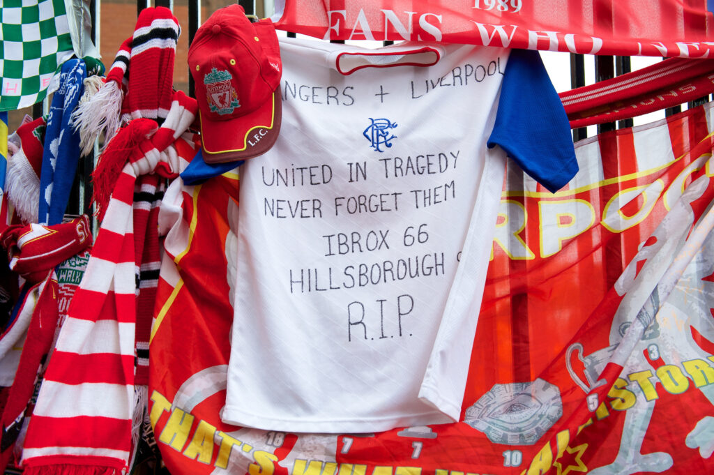 Hillsborough and Ibrox Tribute