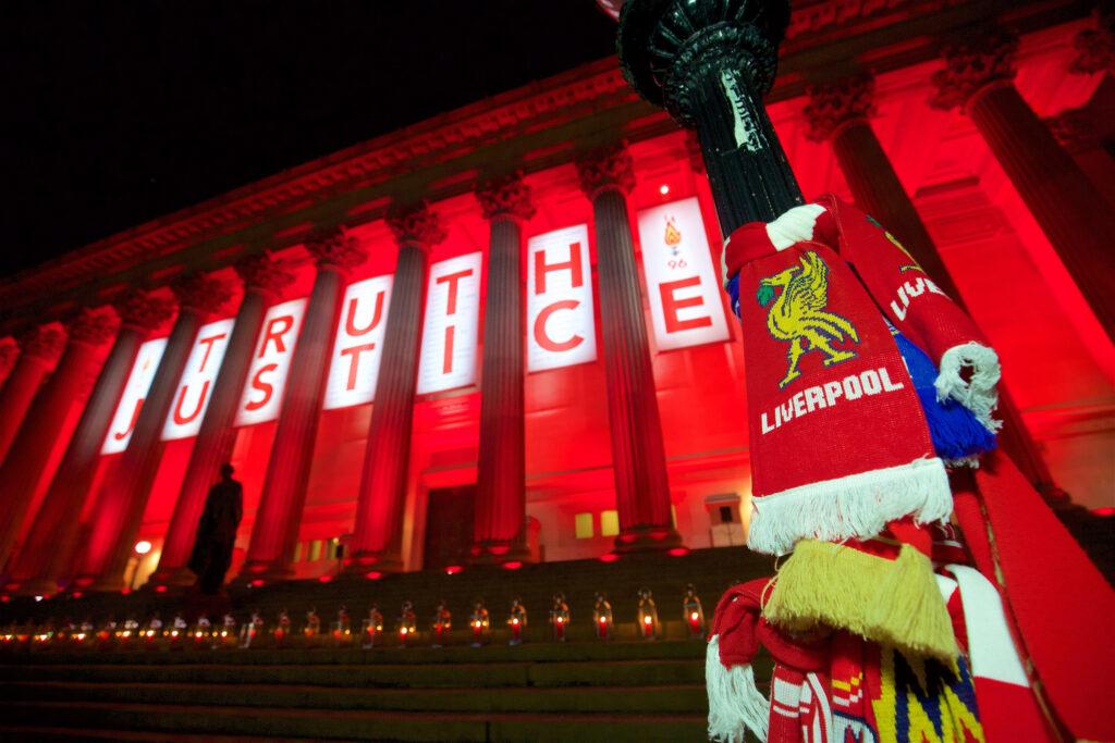 Liverpool Hillsborough Tribute Justice