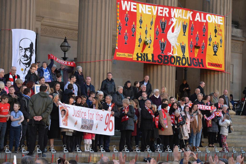 Hillsborough Remembrance St Georges Hall