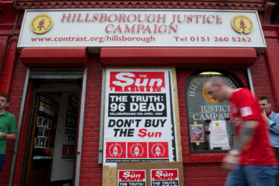 Hillsborough Justice Campaign Office Liverpool