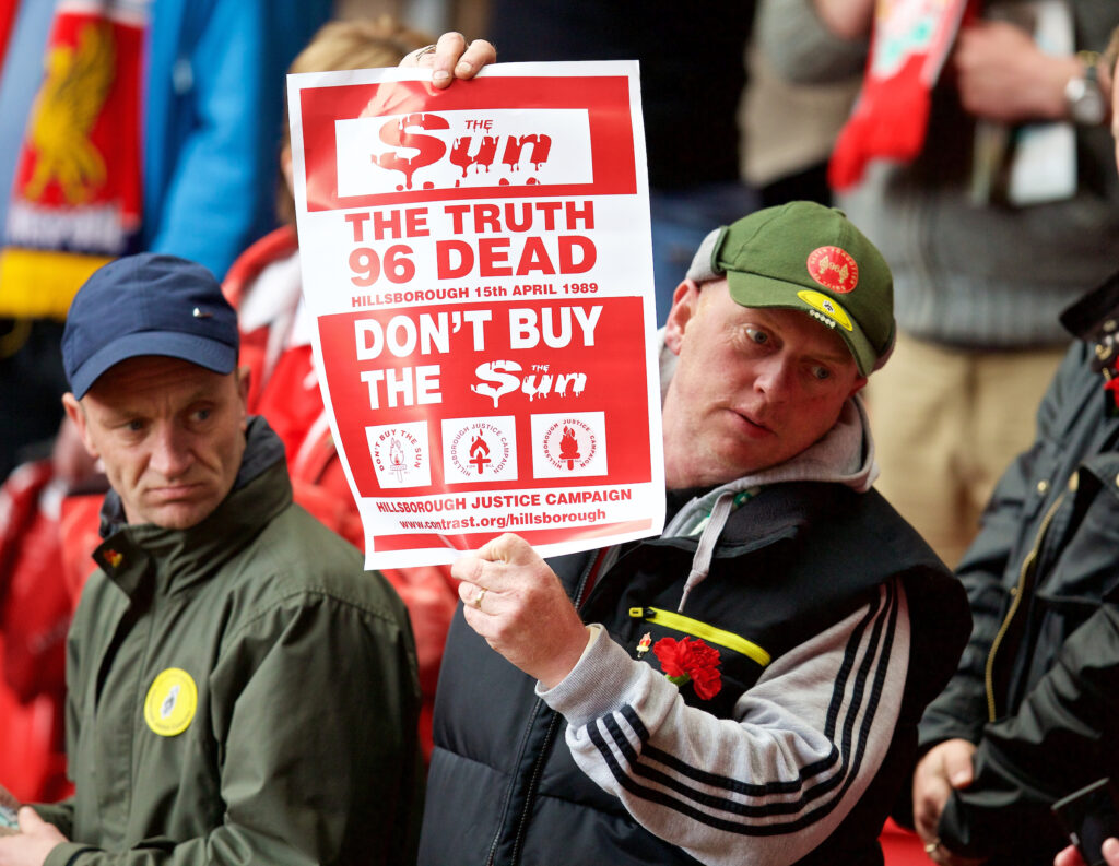 Don't Buy The Sun Poster Liverpool