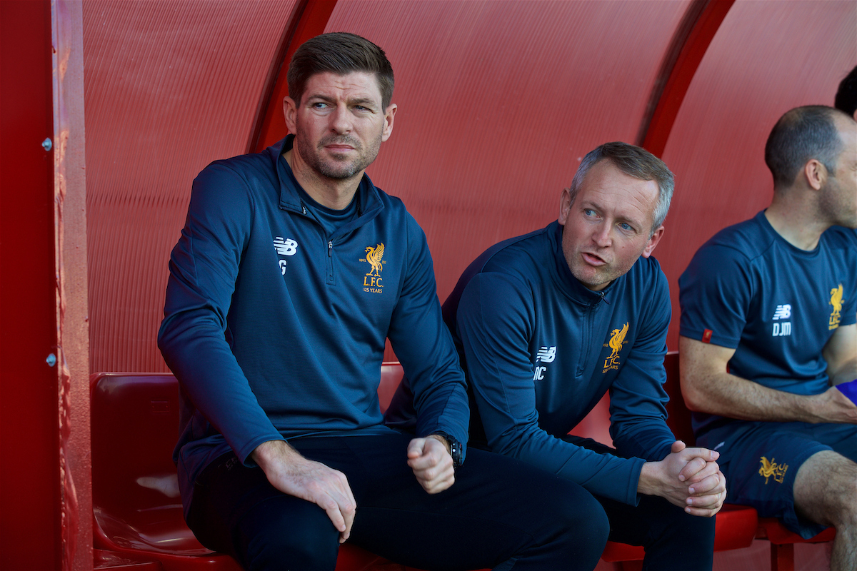 Liverpool Academy Staff Looking Ahead After A Successful Year For The Youth Sides