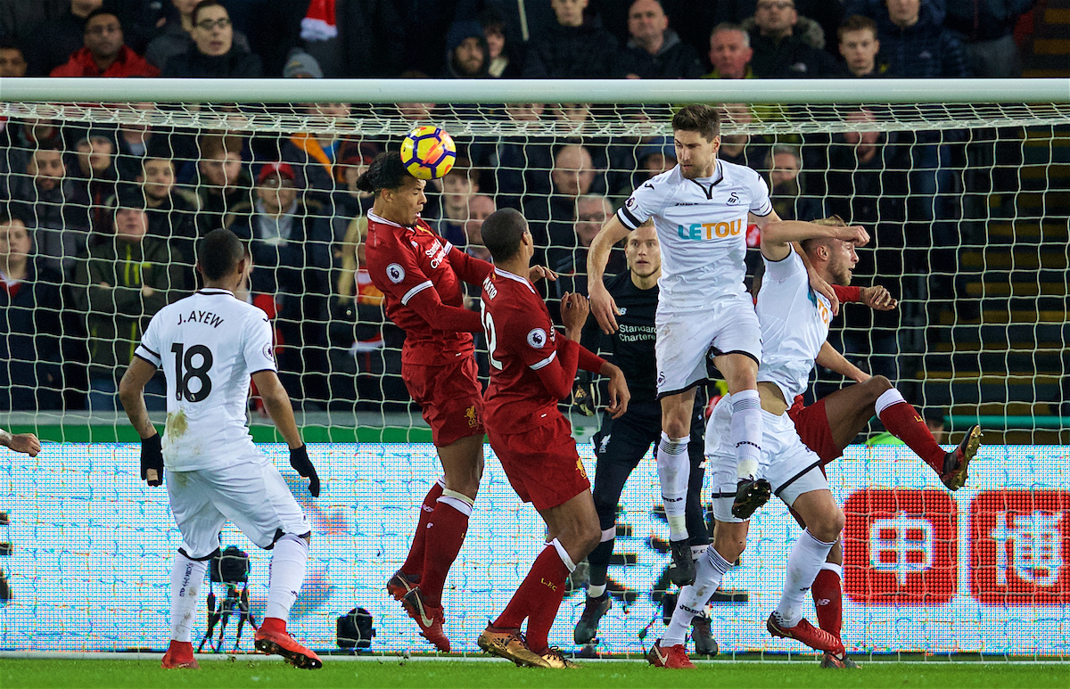 Virgil Van Dijk Won T Cure All Liverpool S Defensive Ills But More Can Be Done To Play To His Strengths The Anfield Wrap