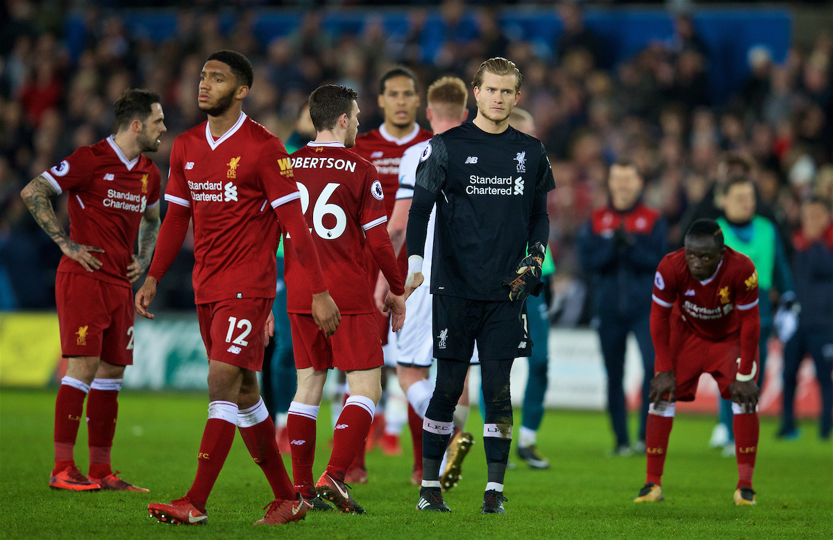 Swansea City 1 Liverpool 0: Lack Of Quality In Reserve All Too Evident For Transfer-Shy Reds