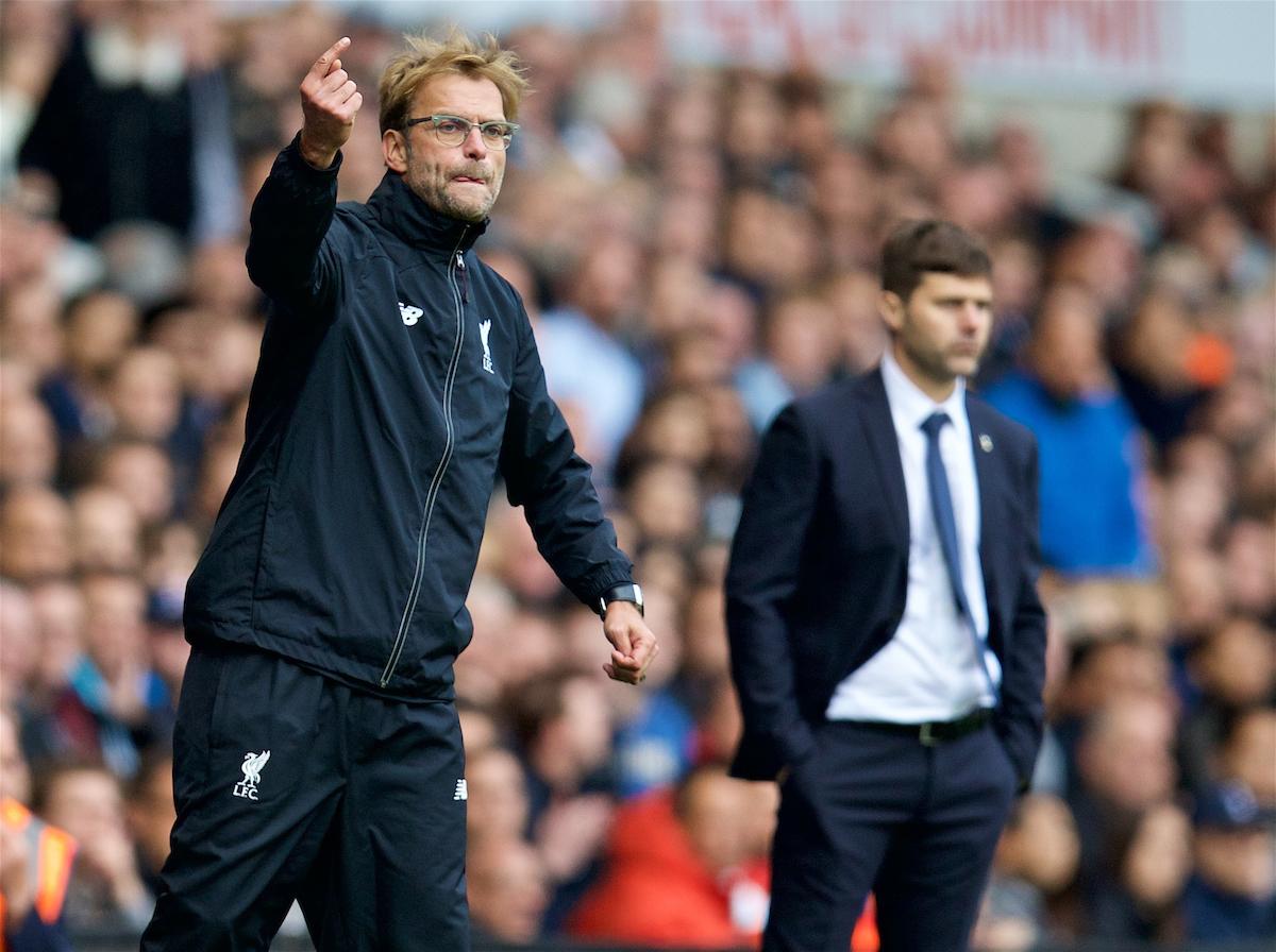 Liverpool v Tottenham Hotspur: The Team-Talk