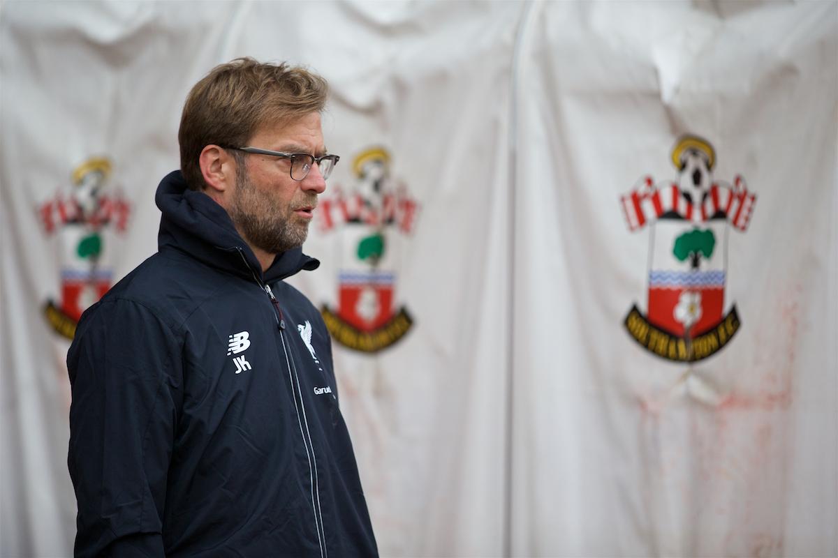 Southampton v Liverpool: The Team Talk