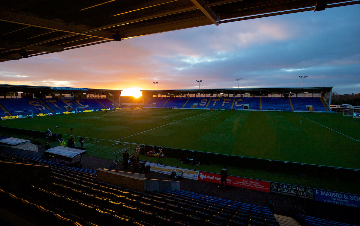 Lower League: Shrewsbury Town And Chester FC