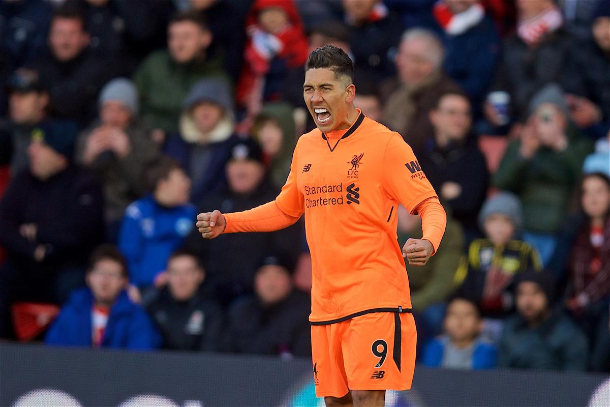 Southampton 0 Liverpool 2: Match Ratings
