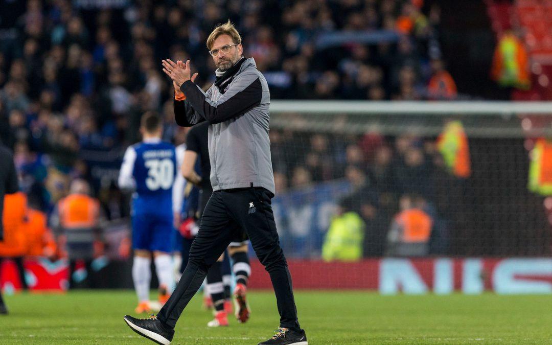 Liverpool v FC Porto: The Champions League Preview