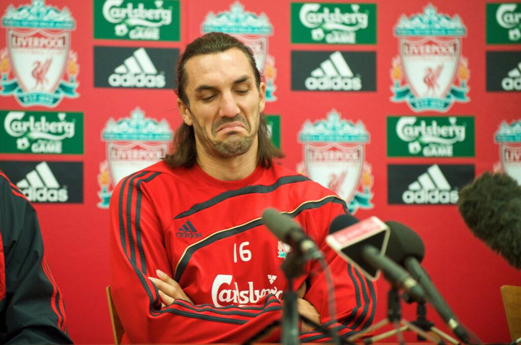 Sotirios Kyrgiakos Signs for Liverpool