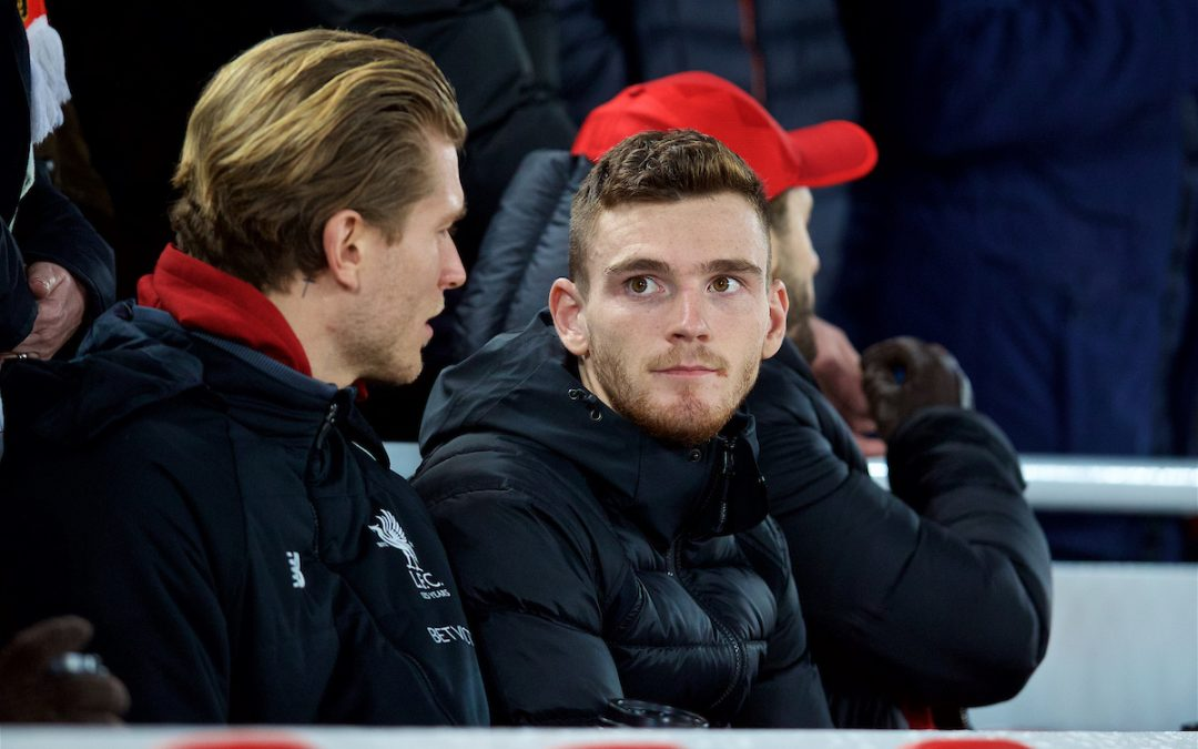 Liverpool v AS Roma: How Robertson And The Reds Could Raise A Few Smiles In Dundee