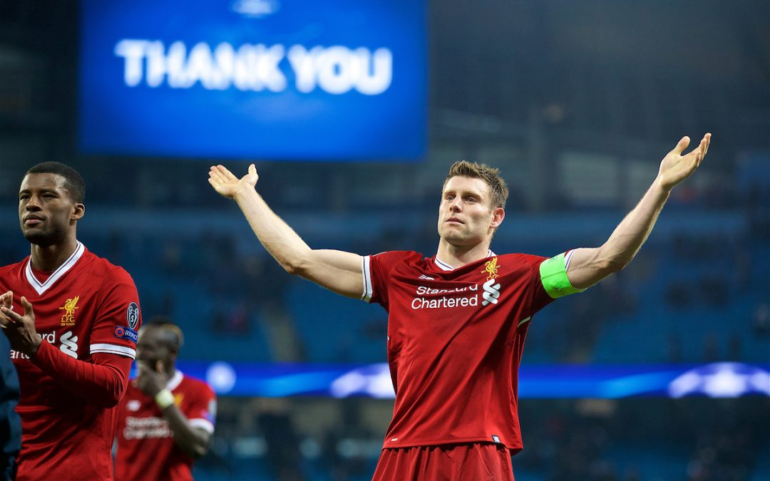 Liverpool: How The Experience Of James Milner Can Help The Reds Get Over The Line