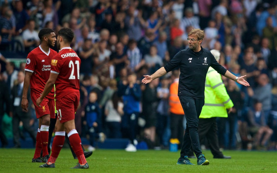 Liverpool: West Brom Blow A Timely Reminder For The Reds Ahead Of Roma