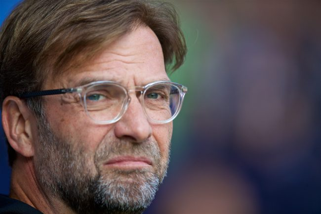 WEST BROMWICH, ENGLAND - Saturday, April 21, 2018: Liverpool's manager Jürgen Klopp before the FA Premier League match between West Bromwich Albion FC and Liverpool FC at the Hawthorns. (Pic by David Rawcliffe/Propaganda)