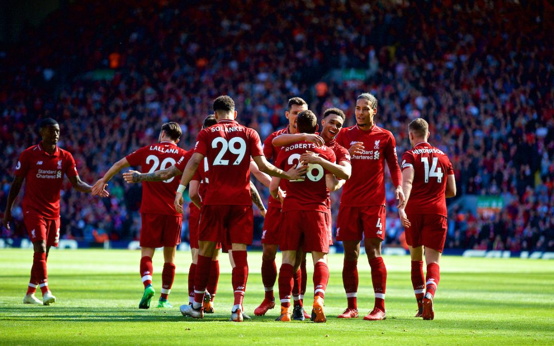 Liverpool 4 Brighton & Hove Albion 0: Match Review