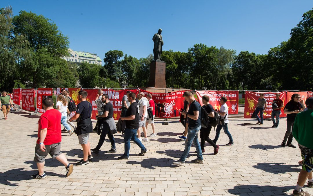 Liverpool In Kiev: There Are Places I'll Remember All My Life