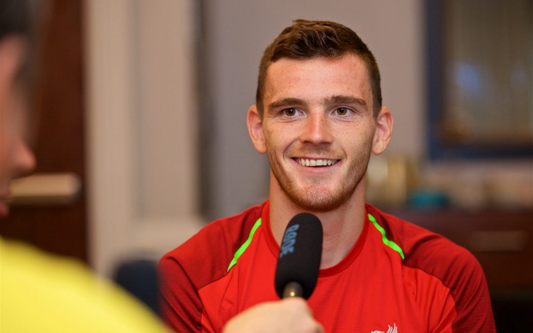 TAW Special: Andy Robertson Interview