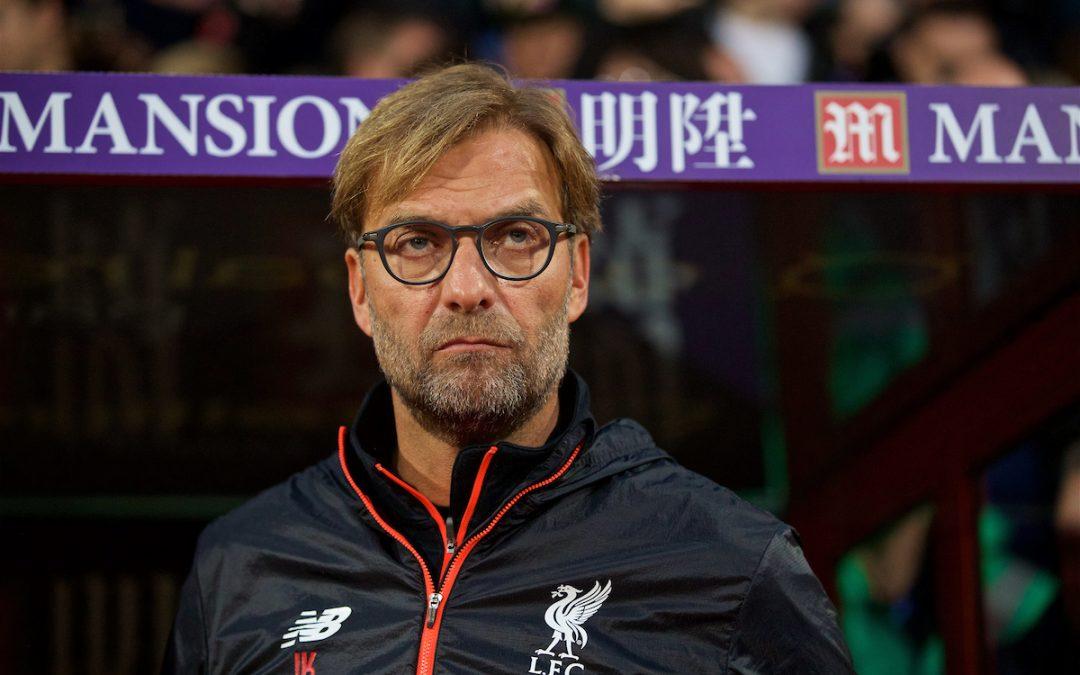 Crystal Palace v Liverpool: The Team Talk