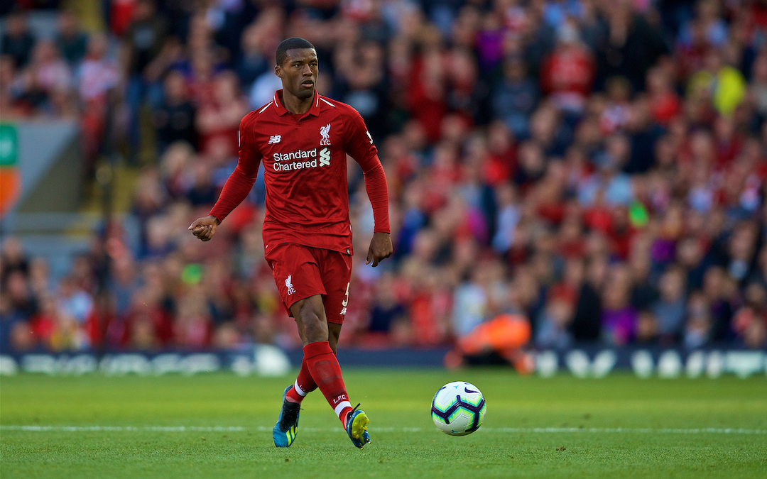 How Gini Wijnaldum Has Fought His Way To The Forefront At Liverpool