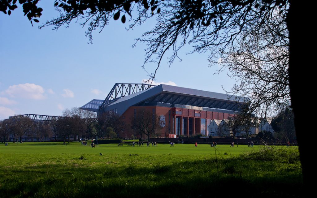 Main Stand Anfield Liverpool Stanley Park