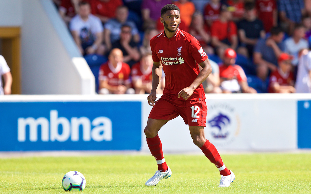 Joe Gomez: Liverpool's Leading Light At Leicester